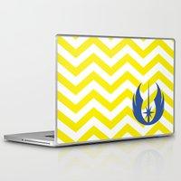 jedi Laptop & iPad Skins featuring Star Wars Jedi Chevrons by foreverwars
