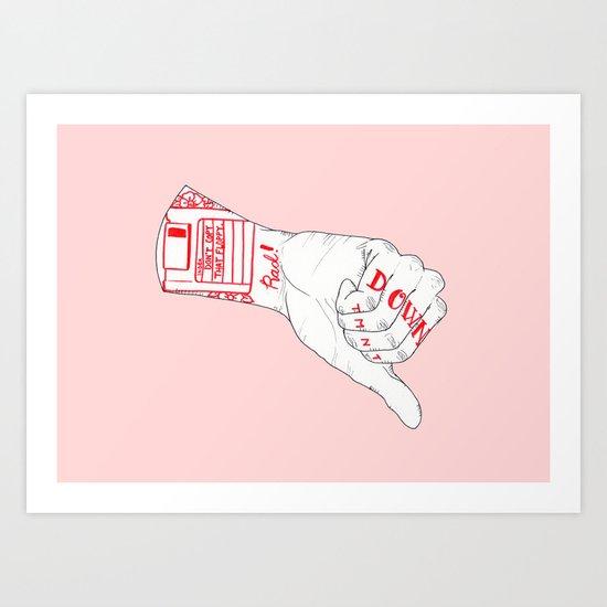 Don't Copy That Floppy Art Print
