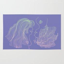Girl and Girl Rug