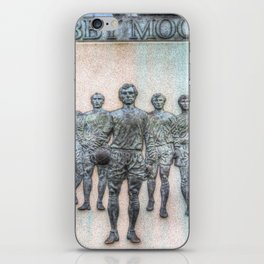 Bobby Moore Statue England 1966 iPhone Skin