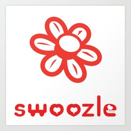 Swoozle Bloom Art Print
