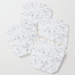 Baesic White Marble Texture Coaster