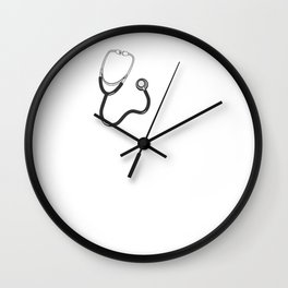 Funny Nurse Practitioner RN Nursing School print Wall Clock