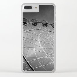 Ferris Wheel Clear iPhone Case