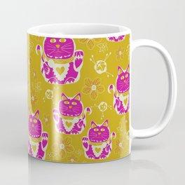 Oriental happy lucky cats Coffee Mug