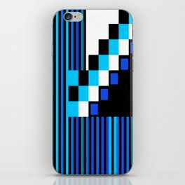 Playing with Colors   Shapes   Black and White   I Feel Blue iPhone Skin