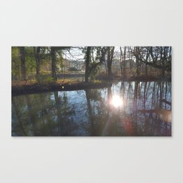 The Pond of Flow Canvas Print