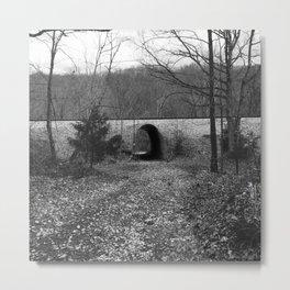 Hiking Views: Tin Whistle Metal Print