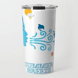 Summer Breeze vintage Travel Mug
