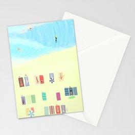 summer dream- I feel like we don't belong here Stationery Cards