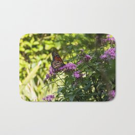 Monarch's Flower Bath Mat