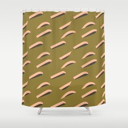 pattern no.7 / sth on the grass Shower Curtain