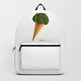 broccoli ice cream Backpack