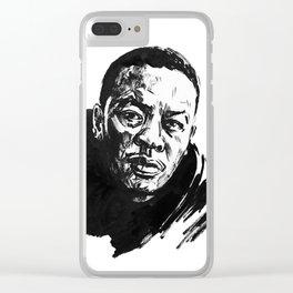 Dre Clear iPhone Case