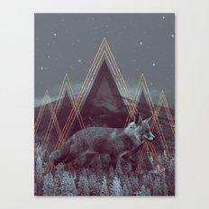 In Wildness | Fox Canvas Print