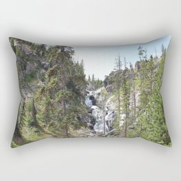 Yellowstone Waterfall Rectangular Pillow