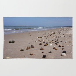 Shiney Stoney Beach - Nairn Scotland - Stones Rug