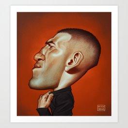 Jon Bernthal Art Print