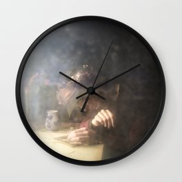 Crying Girl Wall Clock