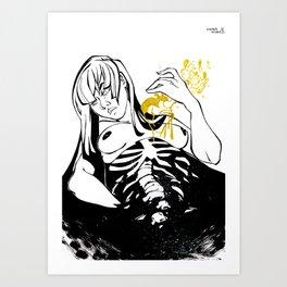 Inktober : Shattered Art Print