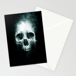 Skull Spatter Stationery Cards