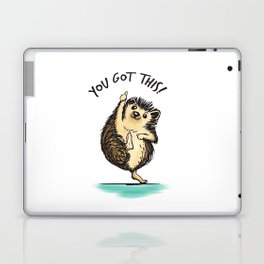 Motivational Hedgehog Laptop & iPad Skin