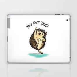 Motivational Hedgehog Laptop & iPad Skin