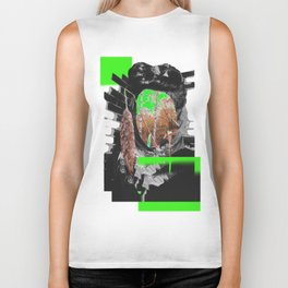 Autumn Portrait Biker Tank