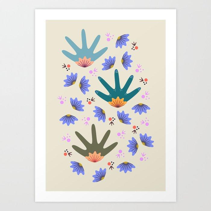 Spring Breeze Art Print