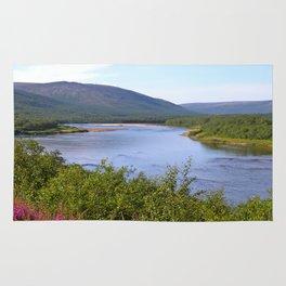 River Landscape Rug