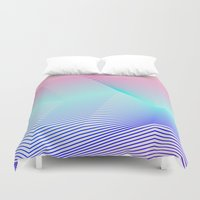 miami Duvet Covers featuring Miami by Three of the Possessed