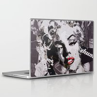 monroe Laptop & iPad Skins featuring Monroe by Ross Collins Artist