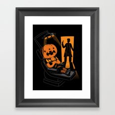 Are You Afraid of the Dentist? Framed Art Print