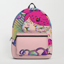 Cute bunny with patterns Backpack