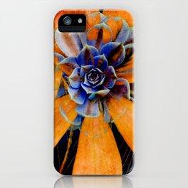 Orange star iPhone Case