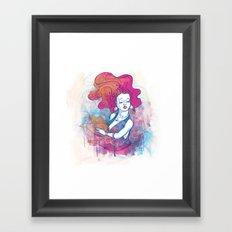 Au travers Framed Art Print