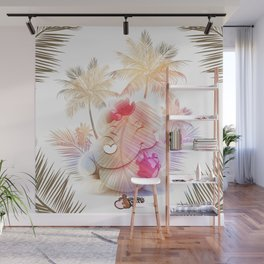 Tropical Mommy Love  Wall Mural