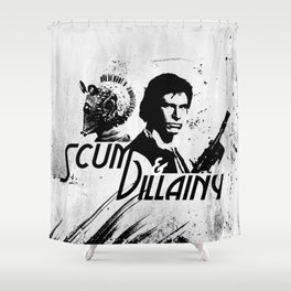 Scum & Villainy Shower Curtain