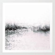 SNOWDREAMER WHITE Art Print