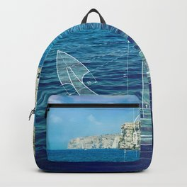 Sailing the Deep Blue Backpack