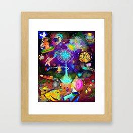 The Star of Bethlehem Framed Art Print
