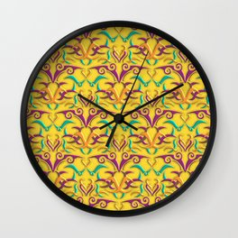 Tribal Pattern 1 Wall Clock
