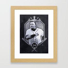 Cabrera Three Crowns Framed Art Print