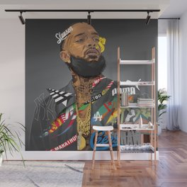 Nip Hussle The Great Wall Mural