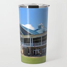 Sports Club Building Travel Mug