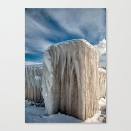 Iced Over Canvas Print