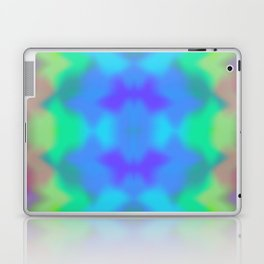 Rainbow Multicolored Watercolor Abstract Tie Dye Laptop & iPad Skin