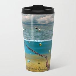 View into the underwater world Travel Mug