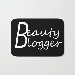 Fashion City: Beauty Blogger Bath Mat
