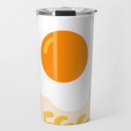 Egg orange Travel Mug